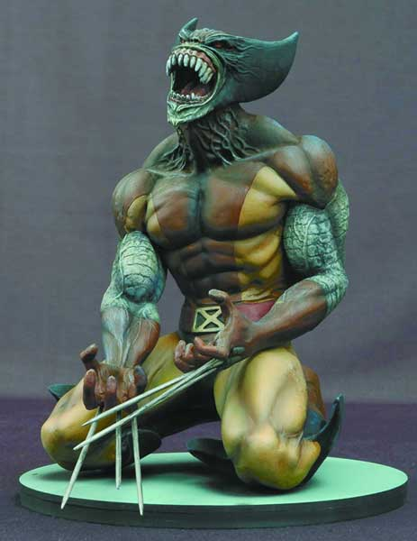 Image: Marvel Milestones Statue: Wolverine as Brood  - Marvel Comics