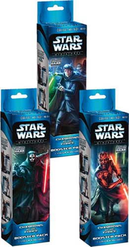 Image: Star Wars CMG: Champions of the Force Booster Pack  -