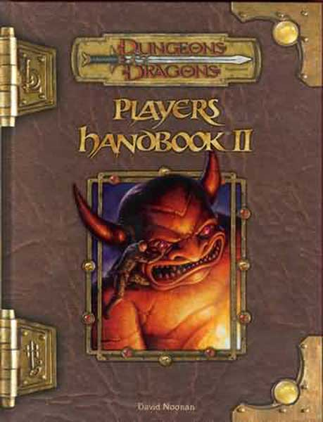Image: Dungeons & Dragons Player's Handbook II HC  -