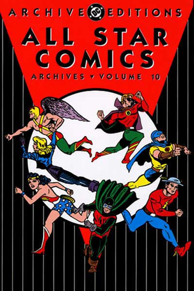 Image: All Star Comics Archives Vol. 10 HC  - DC Comics