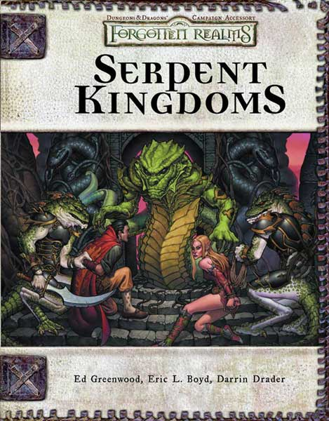 Image: Dungeons & Dragons Forgotten Realms: Serpent Kingdoms HC  -