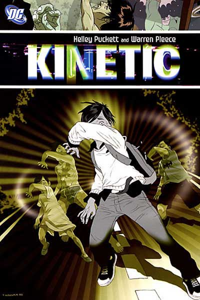 Image: Kinetic SC  - DC Comics