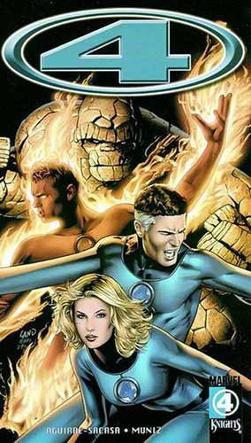 Image: Marvel Knights 4 Vol. 03: Divine Time SC  - Marvel Comics