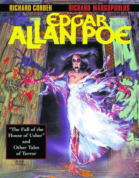 Image: Edgar Allan Poe: Fall of the House of Usher & Other Tales SC  - Del Rey