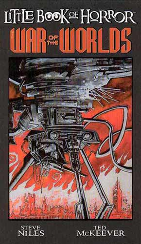 Image: Little Book of Horror: War of the Worlds HC  - IDW Publishing