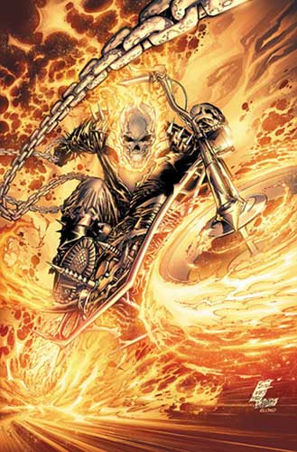 Image: Ghost Rider by Marc Silvestri Poster  - Marvel Comics