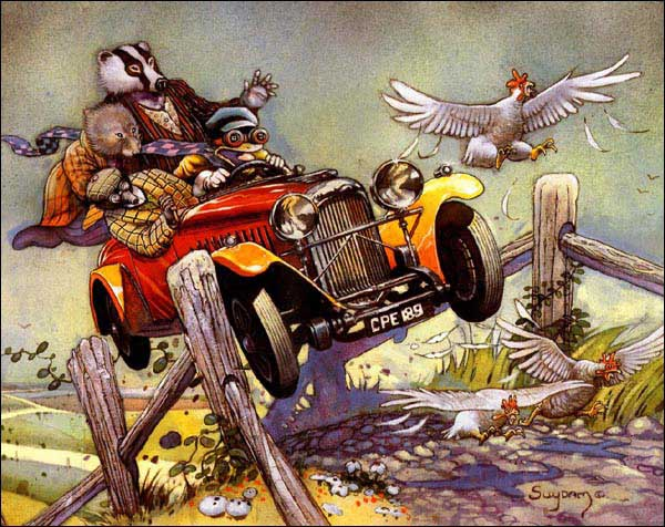 Image: The Wind in the Willows  -