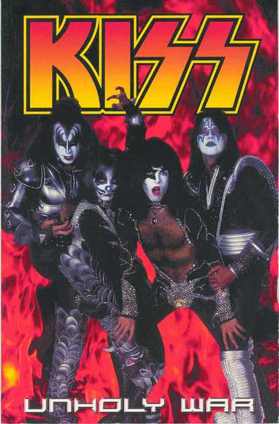 Image: Kiss Vol. 04: Unholy War SC  - Dark Horse Comics