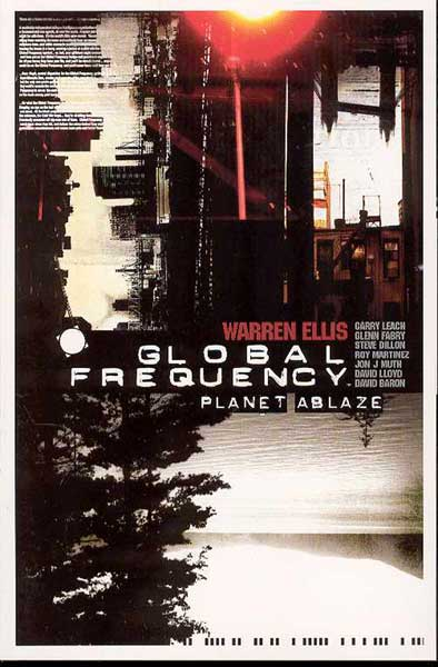 Image: Global Frequency: Planet Ablaze SC  - DC Comics