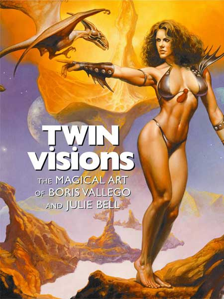 Image: Twin Visions: Boris Vallejo & Julie Bell SC  -