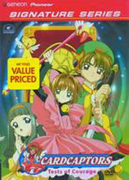Image: Cardcaptors Signature Series Vol. 1: Tests of Courage DVD  -
