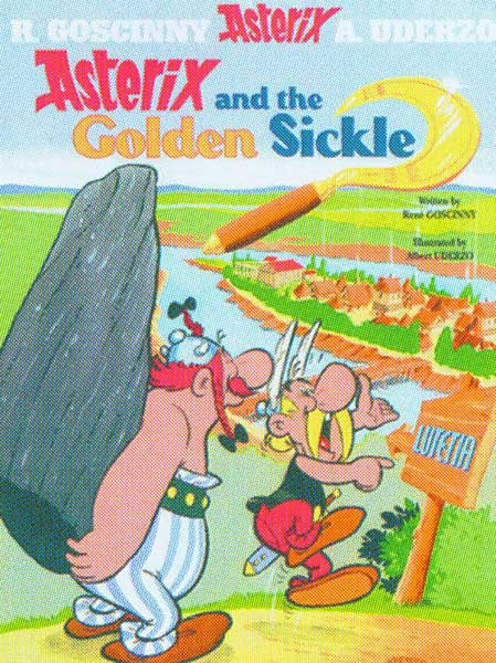Image: Asterix #2: Asterix and the Golden Sickle SC  - Sterling Publishing
