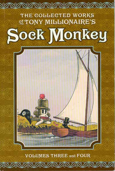 Image: Sock Monkey: Collected Works of Tony Millionaire Vol. 03 & 4 SC  - Dark Horse Comics