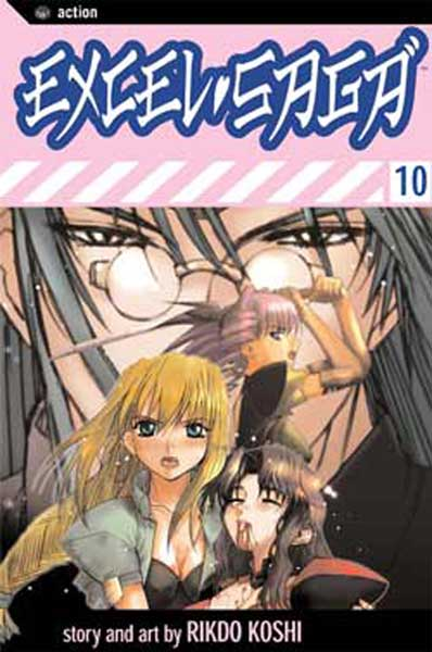 Image: Excel Saga Vol. 10 SC  - Viz Media LLC