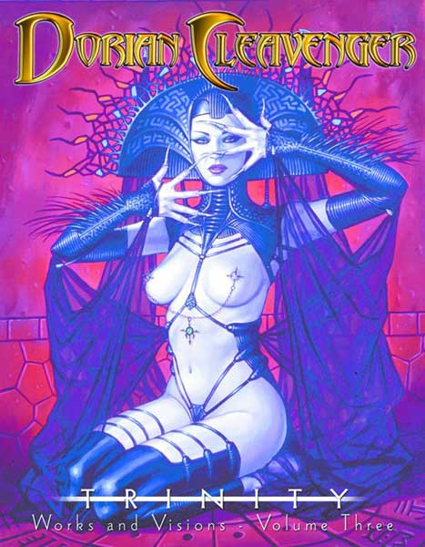Image: Dorian Cleavenger Works and Visions Vol. 3: Trinity SC  -