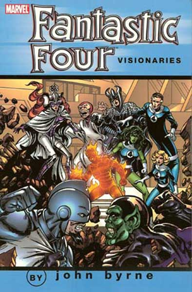 Image: Fantastic Four Visionaries: John Byrne Vol. 05 SC  - Marvel Comics