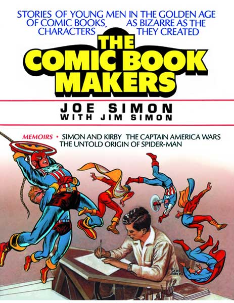 Image: Joe Simon's Comic Book Makers  (s/n hc) - Vanguard