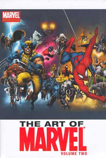 Image: Art of Marvel Vol. 02 HC  - Marvel Comics