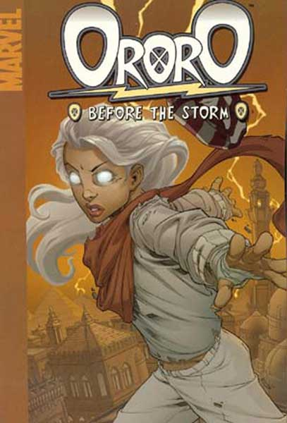 Image: Ororo: Before the Storm  (digest) - Marvel Comics