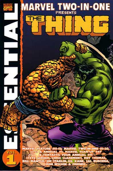 Image: Essential Marvel Two-in-One Vol. 01 SC  - Marvel Comics