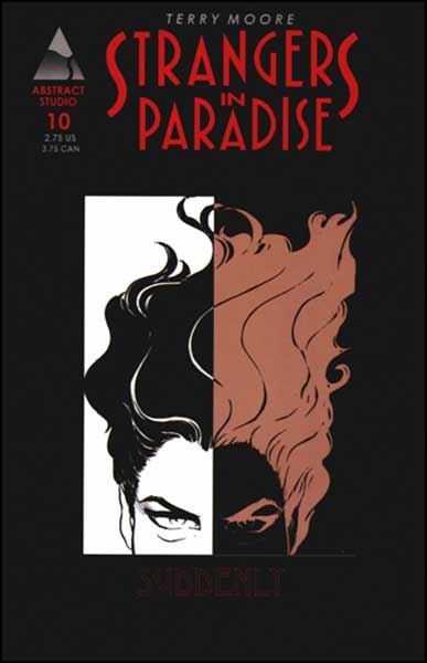 Image: Strangers in Paradise Vol. III #10 - Abstract Studios