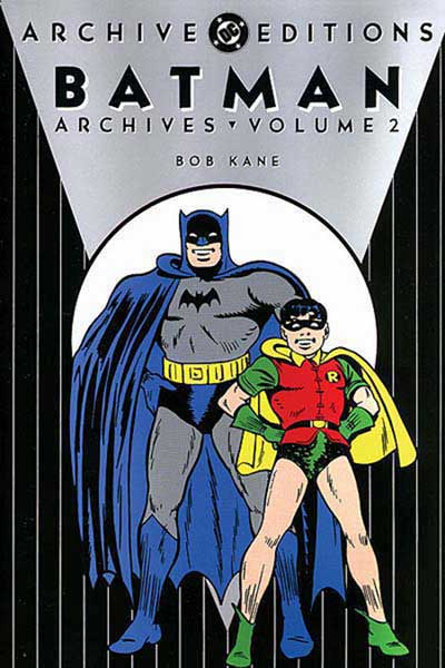 Image: Batman Archives Vol. 02 HC  - DC Comics