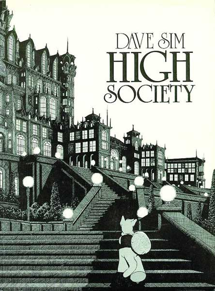 Image: Cerebus Book 02: High Society SC  - Aardvark Vanaheim