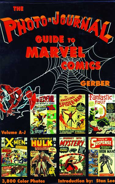 Image: Photo-Journal Guide to Comics Vol. 03: Marvel Comics A-J HC  -