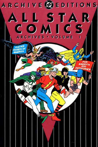 Image: All Star Comics Archives Vol. 01 HC  - DC Comics