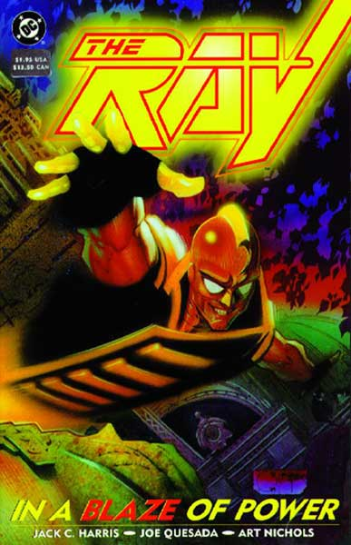 Image: Ray: In a Blaze of Power SC  - DC Comics