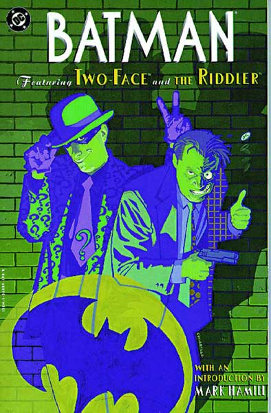 Image: Batman: Featuring Two-Face & the Riddler SC  - DC Comics