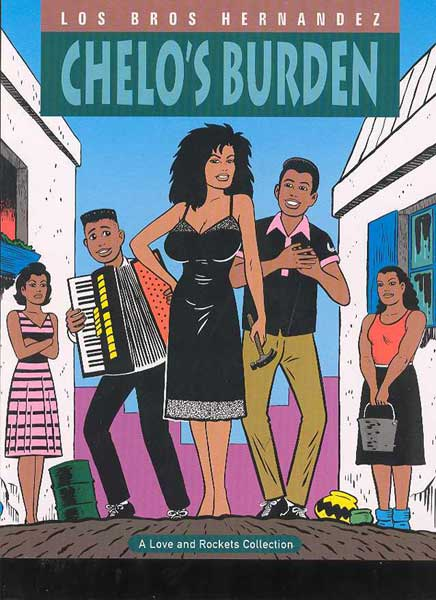 Image: Love & Rockets Vol. 2: Chelo's Burden SC  - Fantagraphics Books