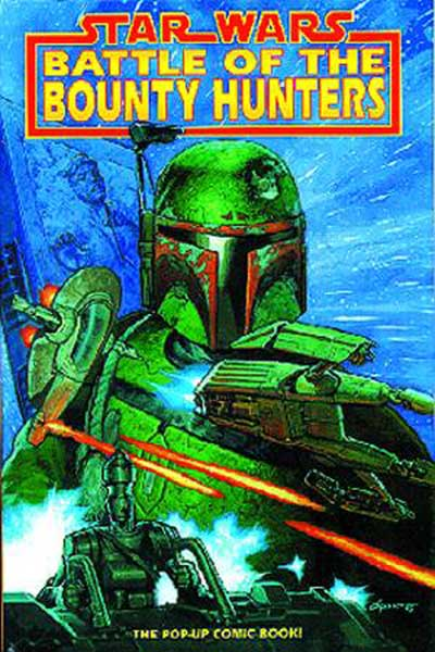 Image: Star Wars: Battle of the Bounty Hunters Pop-Up Book  - Dark Horse Comics