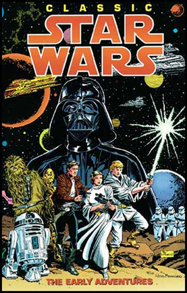 Image: Star Wars Classic: Early Adventures SC  - Dark Horse Comics