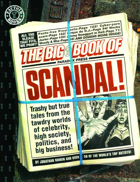 Image: Big Book of Scandal SC  - DC Comics