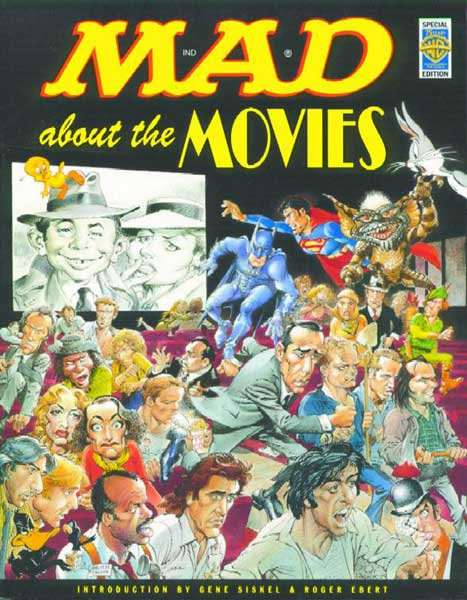 Image: Mad About the Movies: Special Warner Bros Edition SC  - DC Comics