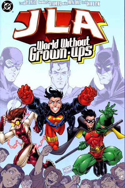 Image: JLA: World Without Grownups SC  - DC Comics