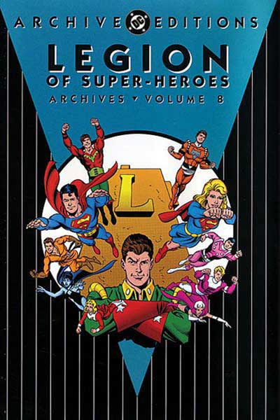 Image: Legion of Super-Heroes Archives Vol. 08 HC  - DC Comics