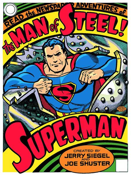 Image: Superman: Man of Steel Metal Sign  -