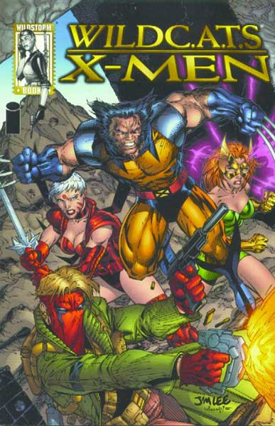 Image: Wildcats / X-Men SC  - DC Comics