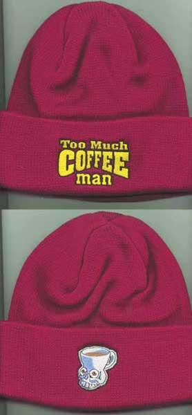 Image: Dark Horse Braingear Cap: Too Much Coffee Man  -