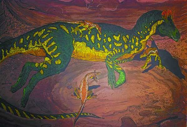 Image: Age of Reptiles: Carnivores Limited Edition Lithograph #3  -