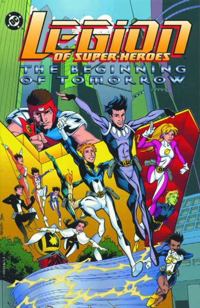 Image: Legion of Super-Heroes: The Beginning of Tomorrow SC  - DC Comics