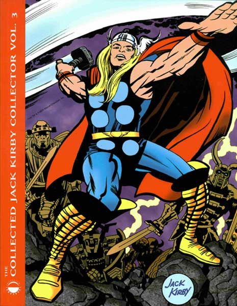 Image: Collected Jack Kirby Collector Vol. 03 SC  (1st printing) - Twomorrows Publishing