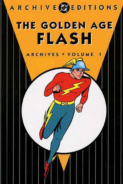 Image: Golden Age Flash Archives Vol. 01 HC  - DC Comics