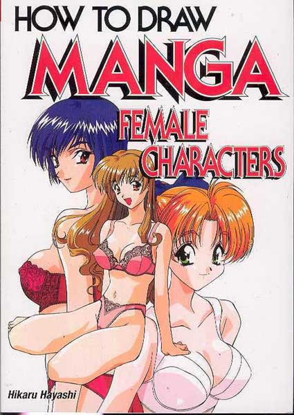 Image: How to Draw Manga: Female Characters SC  -