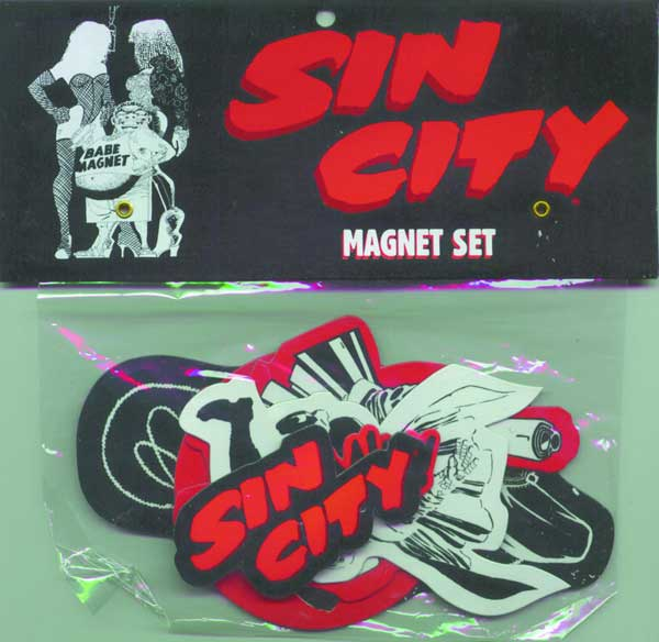 Image: Sin City Magnet Set  - Dark Horse Comics
