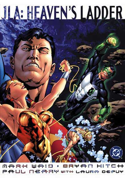 Image: JLA: Heaven's Ladder  (oversized sc) - DC Comics