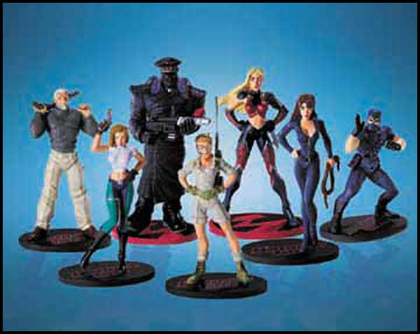 Image: Danger Girl PVC Set  -