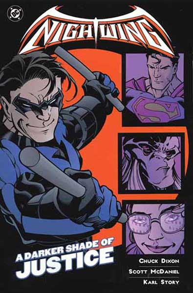 Image: Nightwing: A Darker Shade of Justice SC  - DC Comics